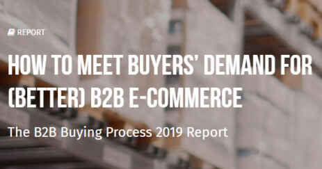 De verwachtingen van de B2B koper anno 2019 en de rol van E-commerce - Download de B2B buyer gids!