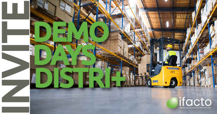 Demo ERP voor distributie en e-commerce