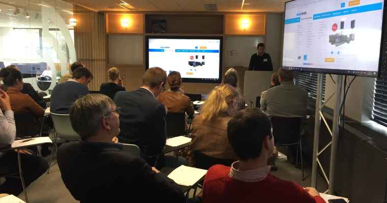 Demo ERP for Wholesale & Distribution and E-commerce again a great success!
