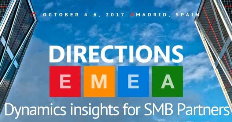 iFacto op Directions EMEA 2017 in Madrid